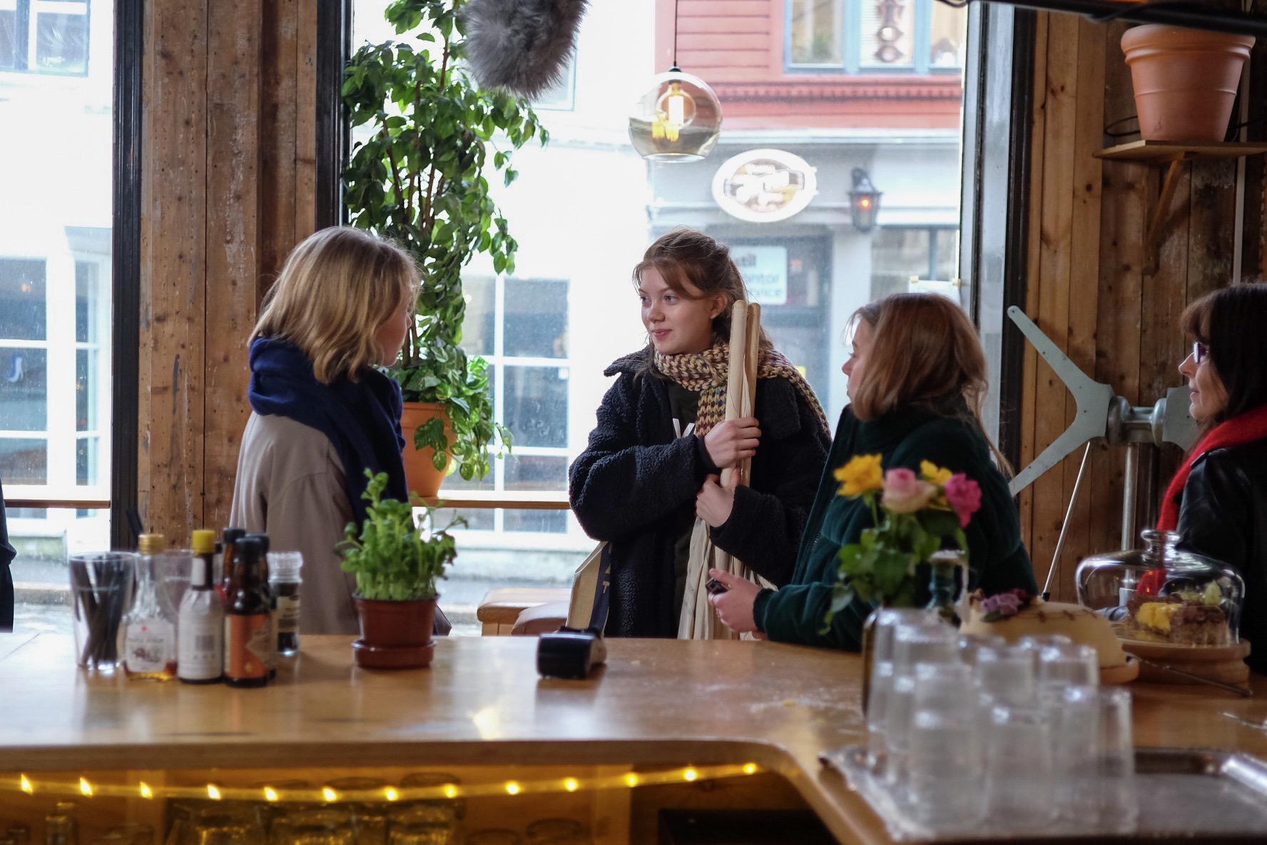 Fra venstre: Tèa Grønner Joner, Laura Johansson Schnell og Fanny Nupen