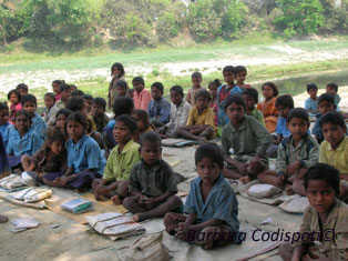 our work - india - Education - the key to a brighter future.
