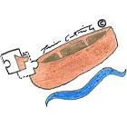 Piece of a canoe €60