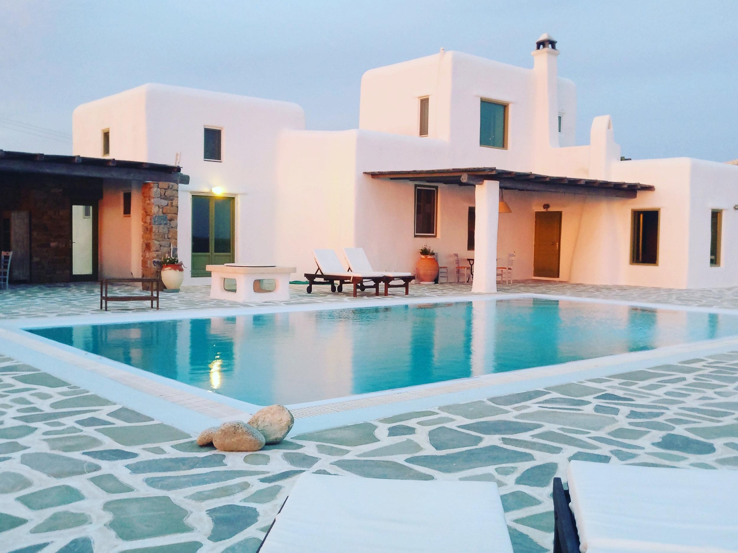fanari, Mykonos  11 Guests, 4/5 bedrooms