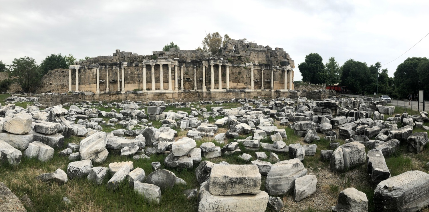Side Ancient Ruins