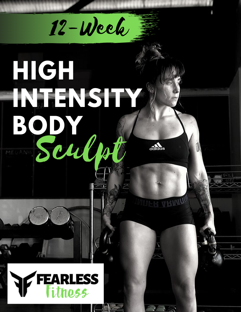 """HIBS WEEK 1 - FREE TRIAL - Get immediate access to Fearless Fitness's NEW High Intensity Body Sculpting workouts. Not a watered-down """"light version… but the exact first week that everyone who invests in the entire program gets."""
