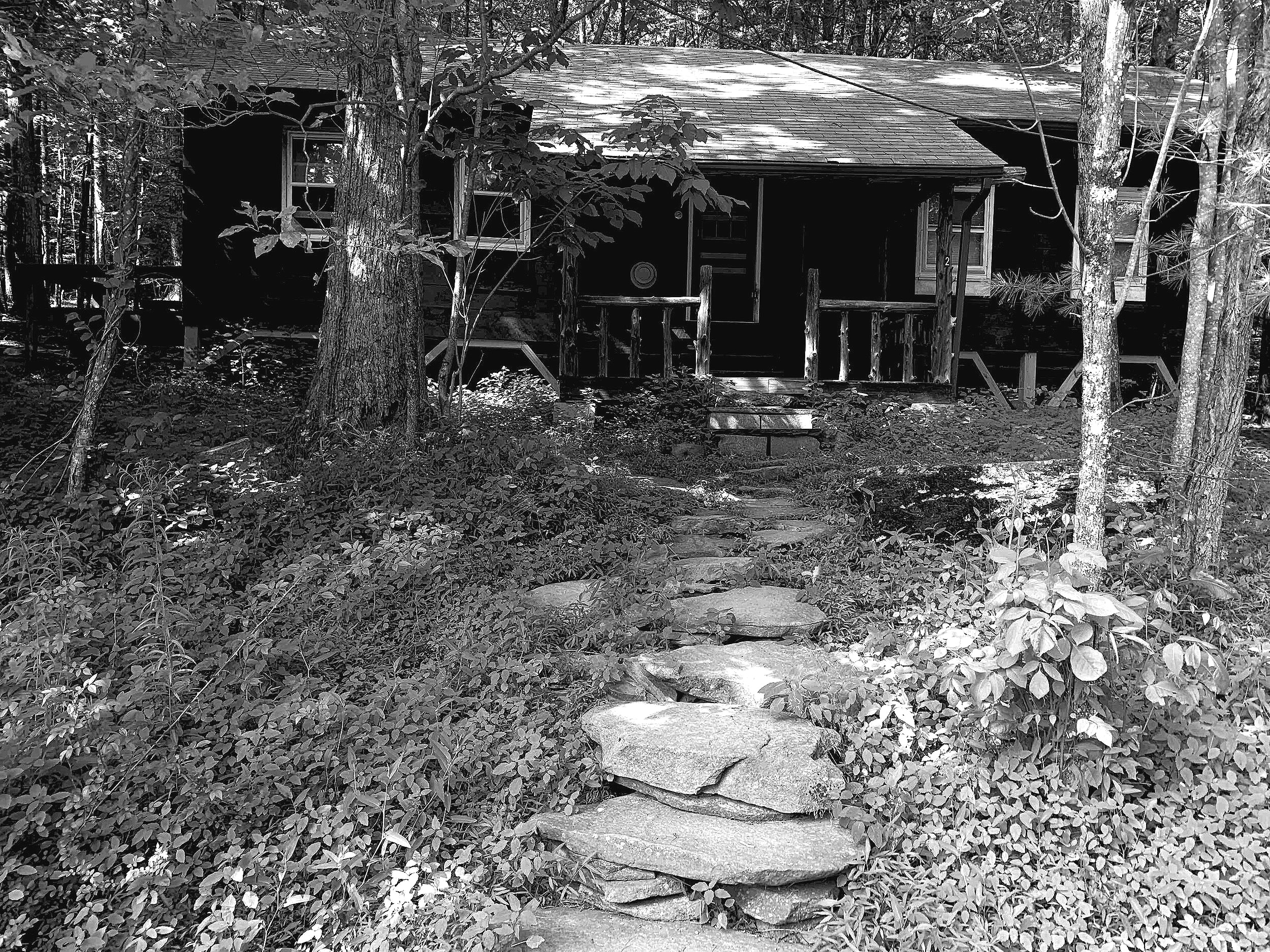 My cabin at Zen Mountain