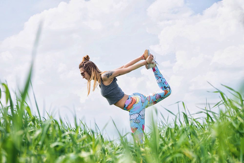 """YOGA - """"For me, yoga is a relationship to all the parts of yourself. Bringing all the parts of yourself together, and in turn to everything around you; letting that connection or spaciousness expand to everyone and everything. It brings you into alignment, physically, mentally, emotionally and morally."""