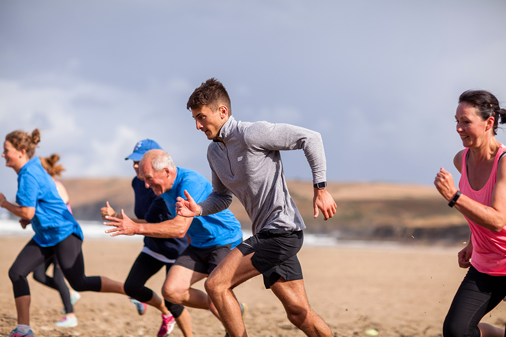 Beach Hiit - It's the ultimate beach workout! Its high tempo, its testing and will push you to the max using the beach and all it has to offer. Be prepared to work hard, in teams and individually, but most importantly to get sandy sweaty and salty.