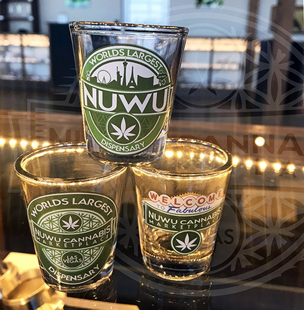 Dub Shots are here #LasVegas! www.nuwucannabis.com