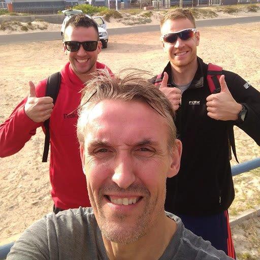 Flemming, Emil og Martin. De tre danskere.