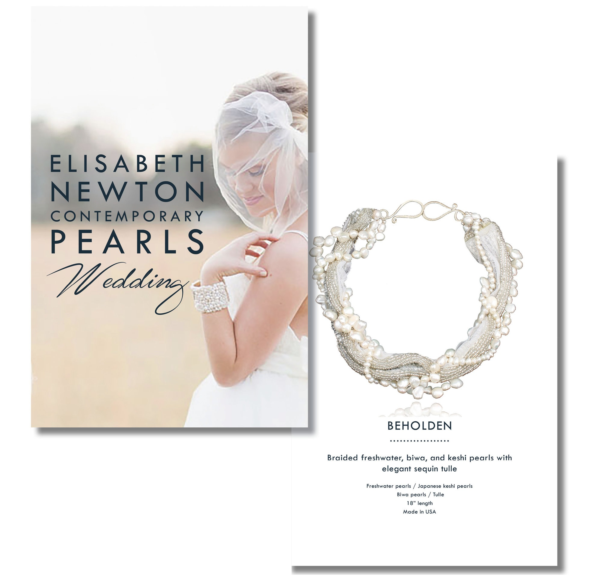 Catalog + Copy - Expanding further on the softened aesthetic of the Weddings brand, I designed a catalog showcasing a selection of top designs and wedding images. I combined editorial photographs from magazine photoshoots alongside detailed product photography.