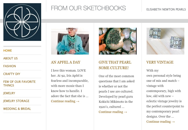 Blog Copy + Content - Running into problems with customers unable to differentiate between real and fake pearls online, I created a blog to help educate and inform people about pearls. The copy and tone was intentionally approachable, and combined pearl facts with interesting stories.Visit the Blog
