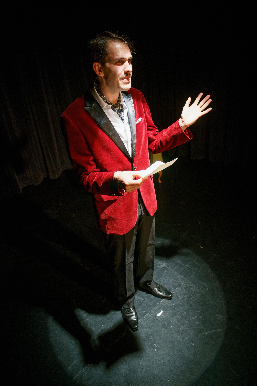 Charlie Montague (Tom Taylor)   Photo Credit - Marcos Avlonitis
