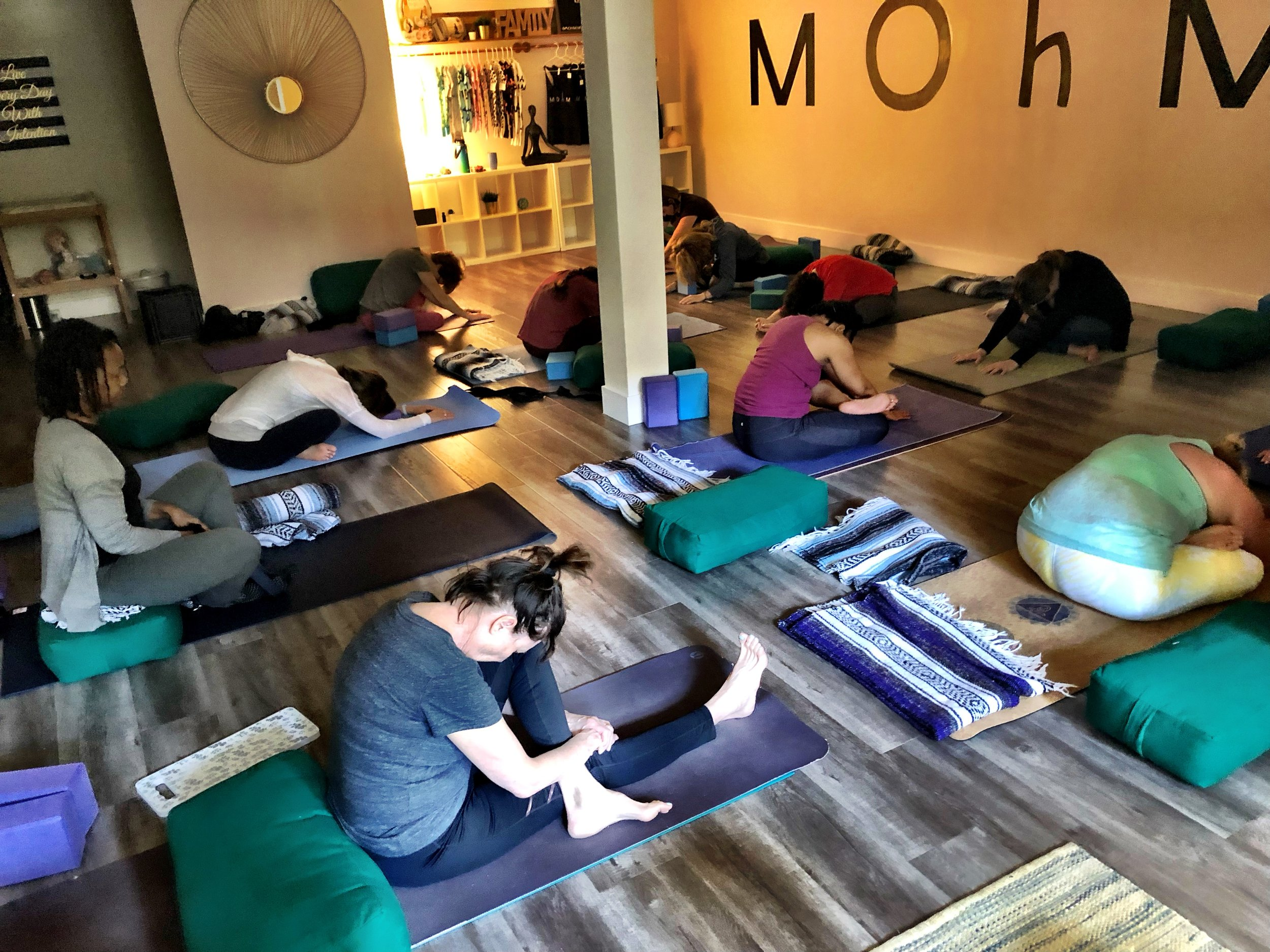 Gentle Yoga - Gentle yoga is a bridge between moving in flow and staying stationary. It is a midway, where there is equilibrium and bliss in every pose.No class offered at this time.Classes will be held inside Mohm Yoga Studio27001 La Paz Rd Suite 348, Mission Viejo, CA 92691