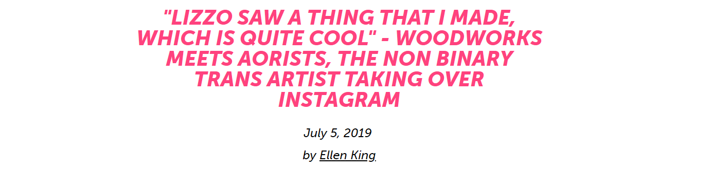 Interview, Woodworks.life, July 2019
