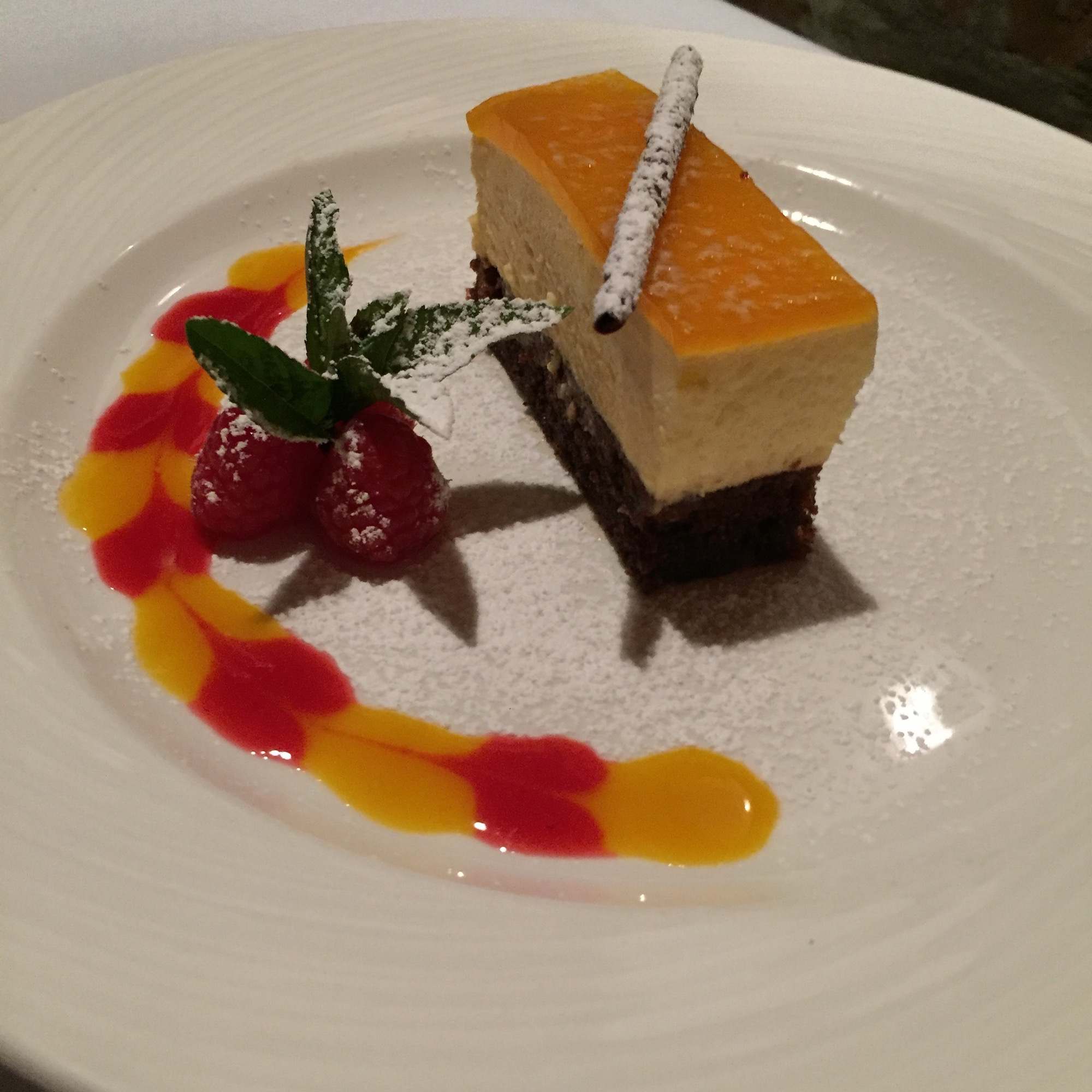 Orange and Chocolate Dessert