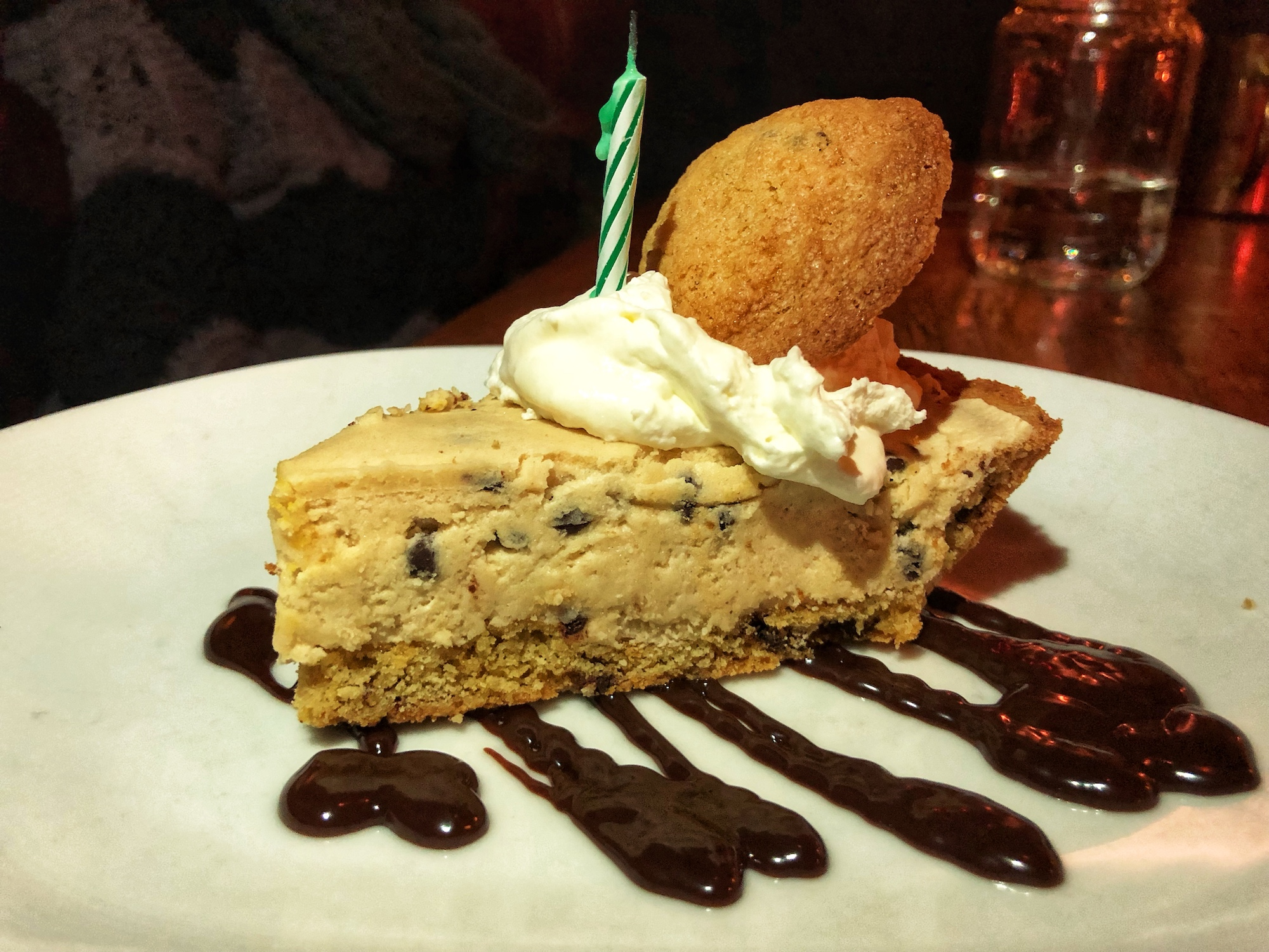 Rotating Pie selection available! This is the cookie dough pie