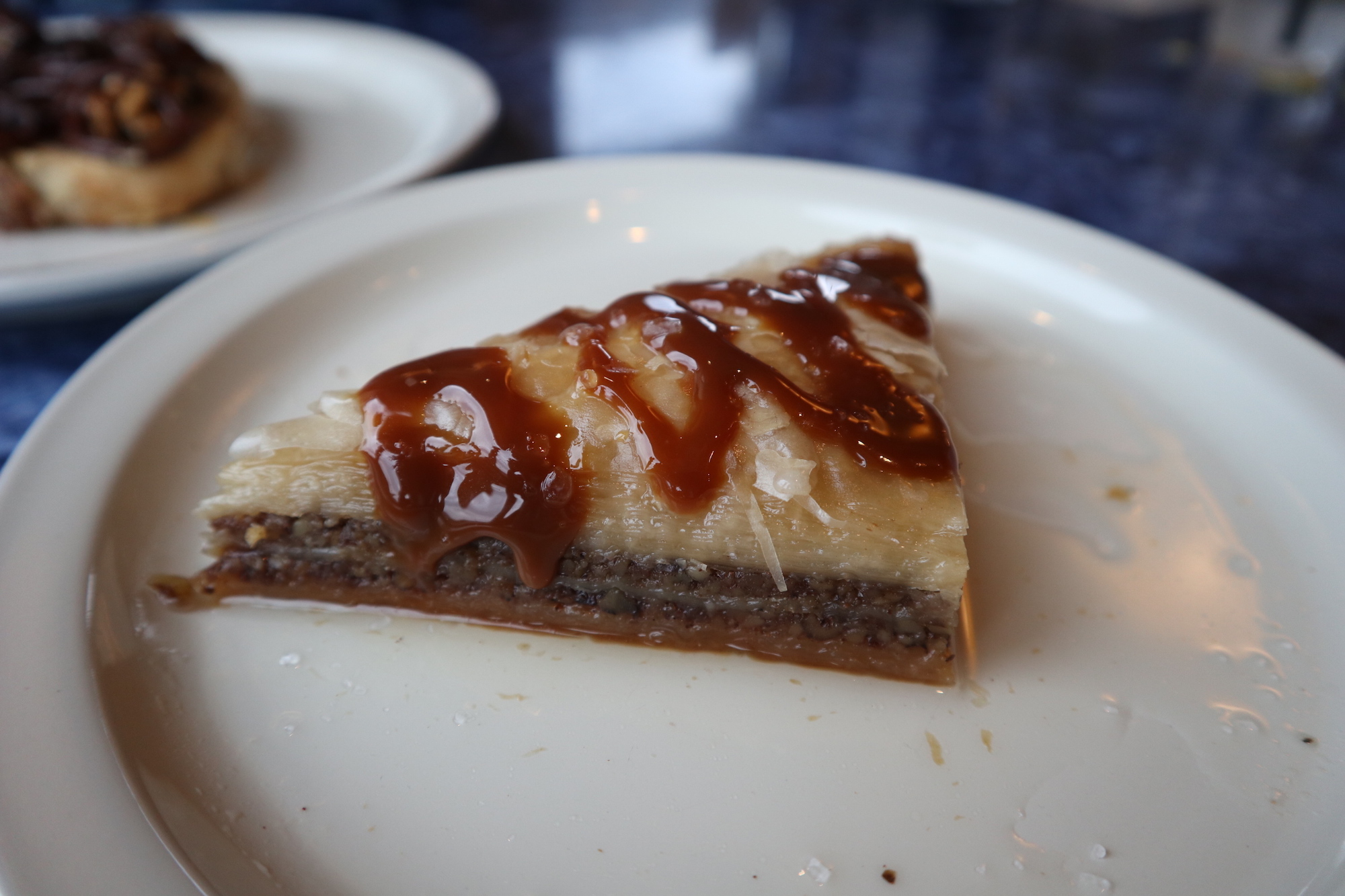 Salted Caramel Baklava