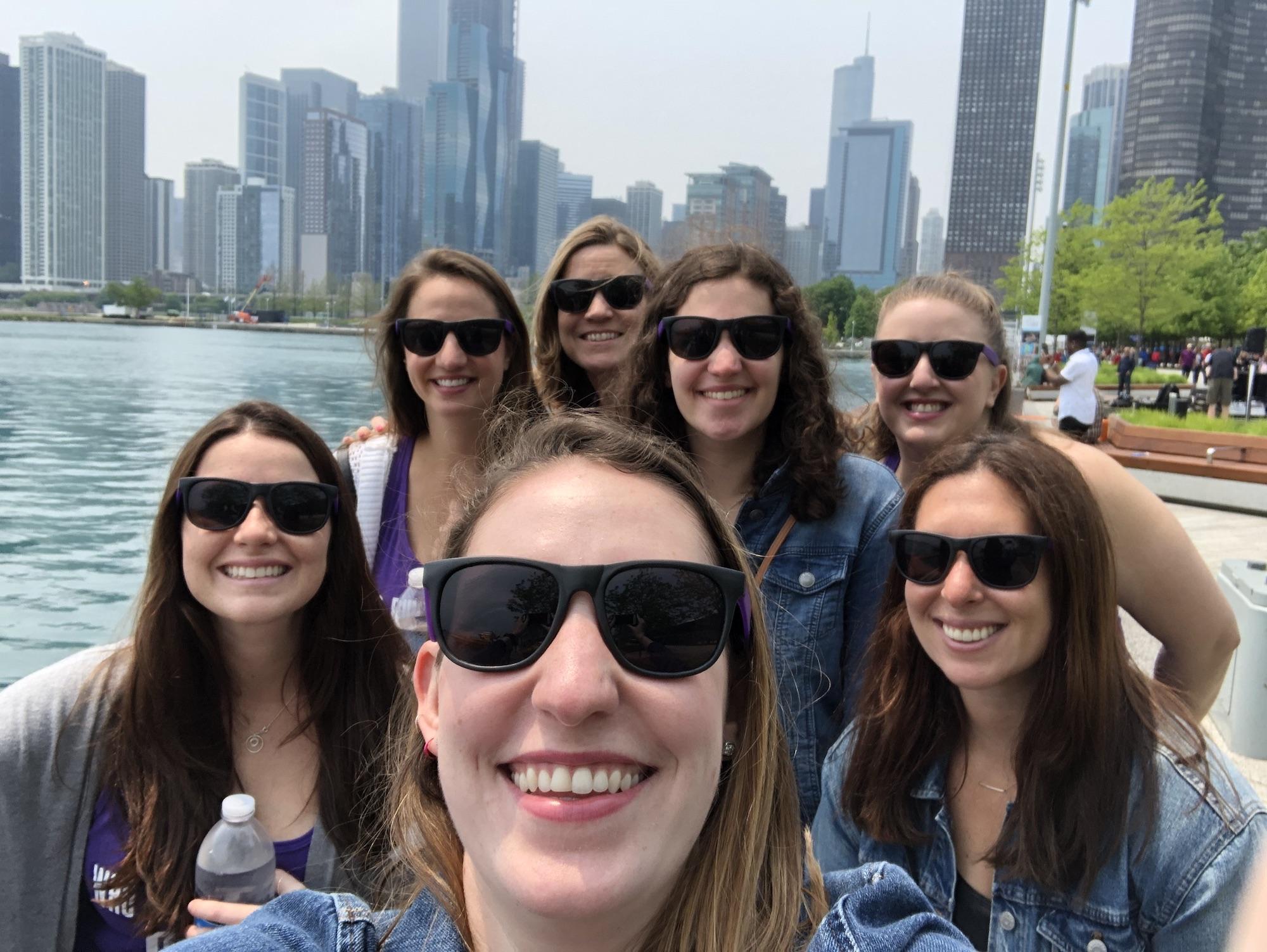 Selfies at Navy Pier