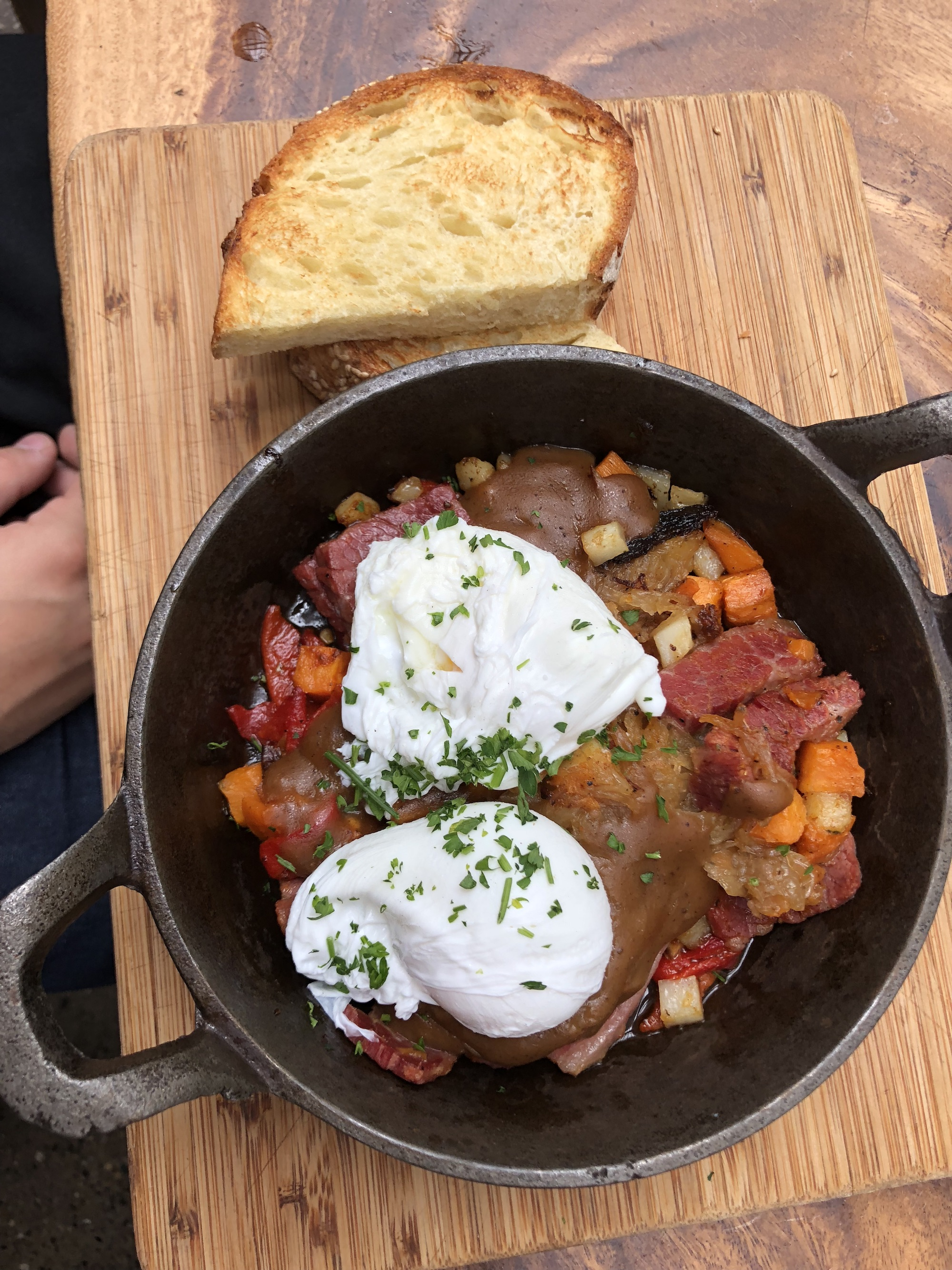 Brunch skillet from Townhouse