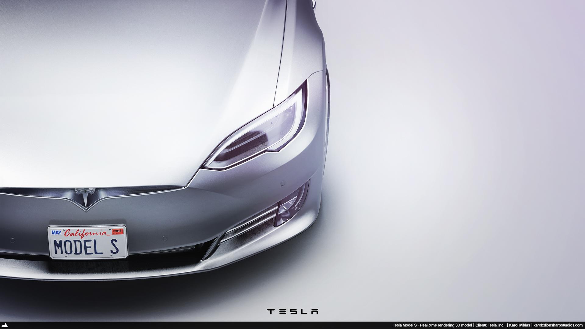 Tesla Inc  Realtime Models (Low Poly) — Lionsharp Studios
