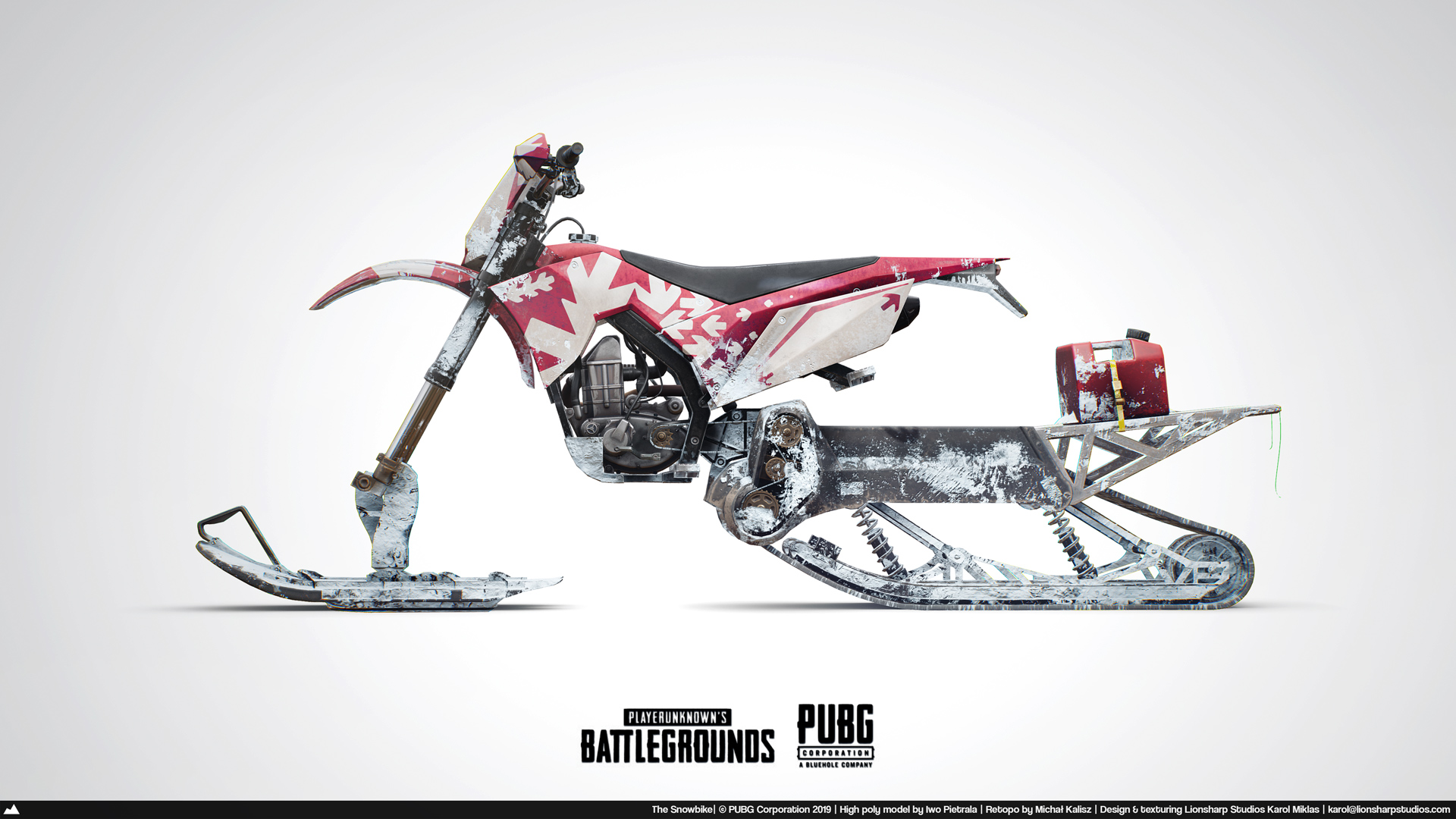 The Snow Motorcycle