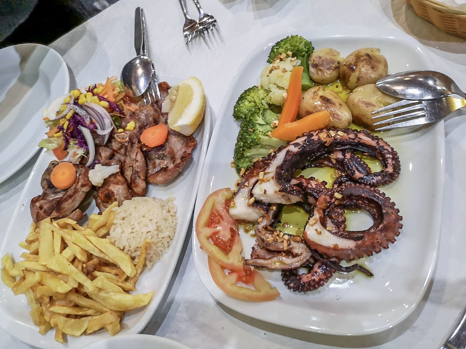 If you like octopus, here is the place to eat it. It blew our minds.