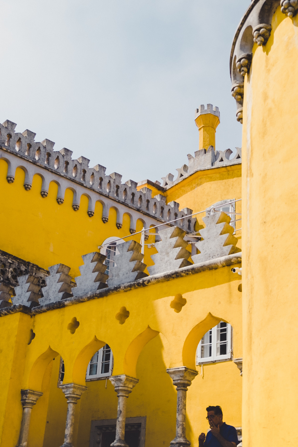 "- Have you ever seen photos of beautiful colourful castles and thought ""that can't be real?"" Well, they were most likely taken in Sintra, and YES they are real."