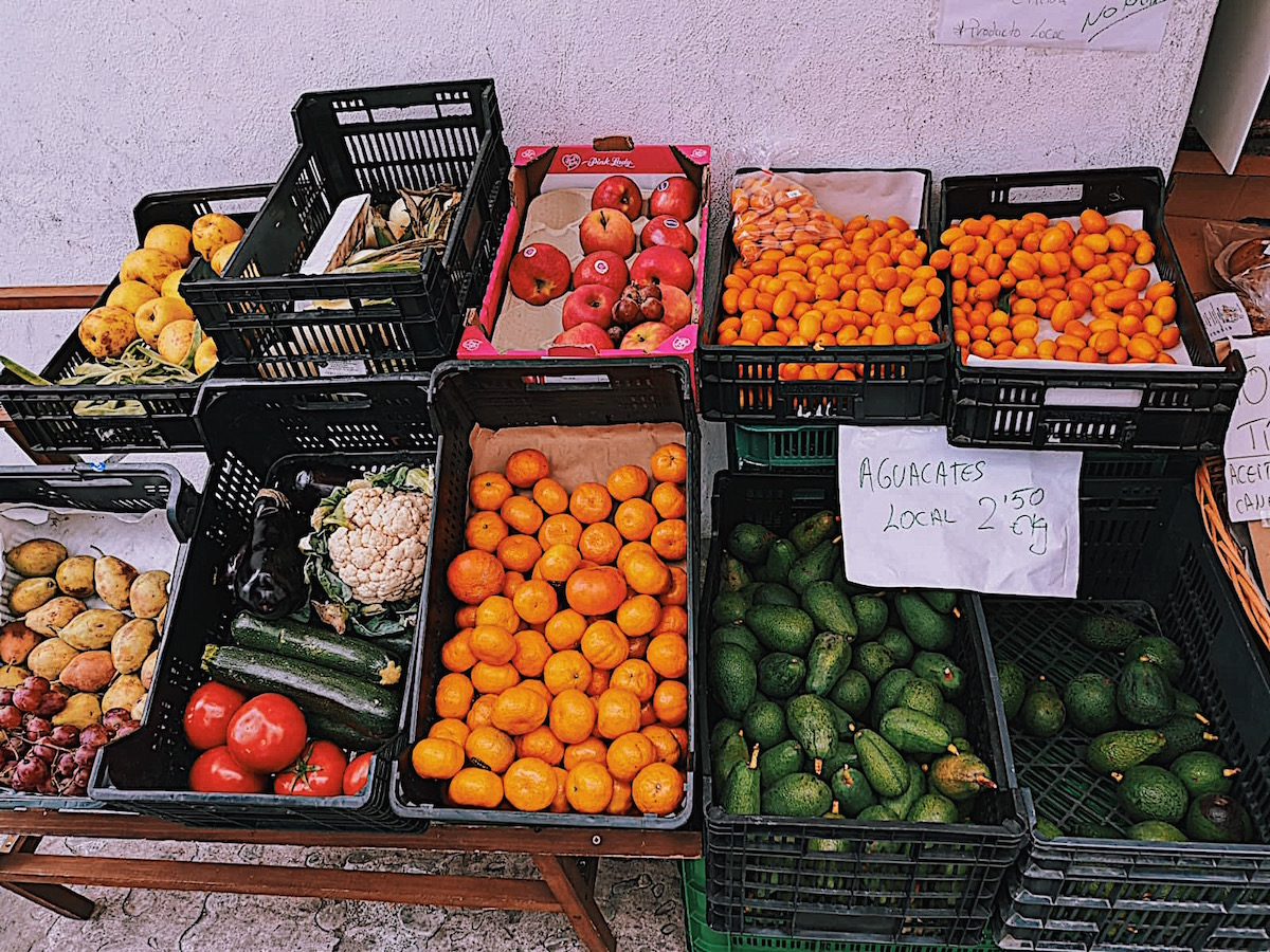 Indulge yourself in the local fresh fruit and vegetables -