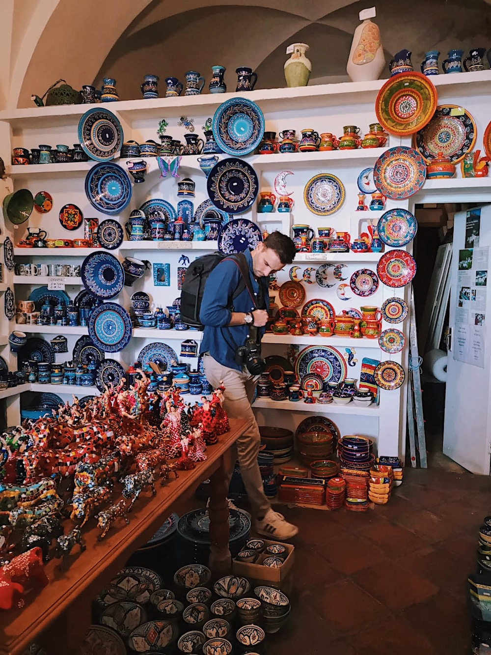 - Don't forget to check out the impressive ceramic stores around the town. Frigiliana is famous for its artesian crafts and bright ceramics.