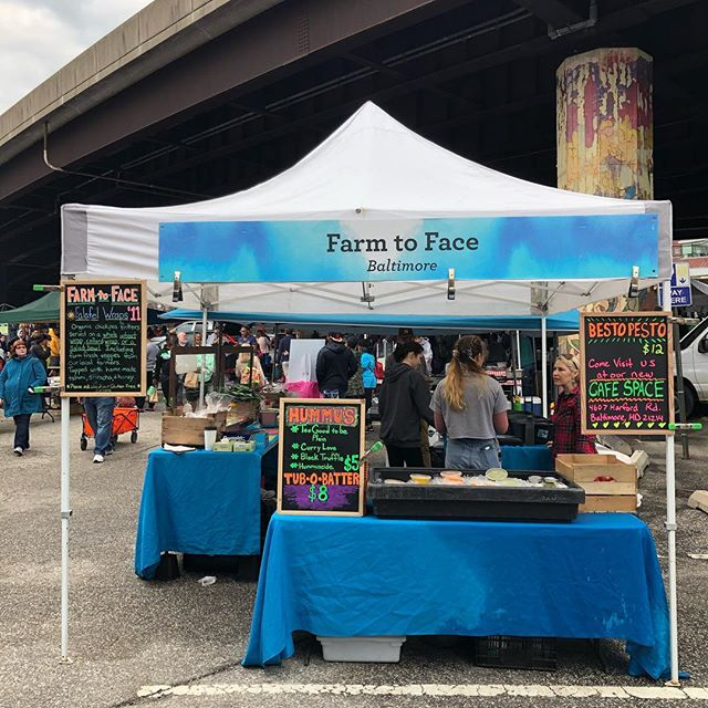 Oh man, it felt so good to be back at Sunday Market @baltimorefarmersmarket ! Spring is finally here. So grateful for that sunshine that came out and all of the beautiful lovely faces that came our way! Catch us next Sunday for all the Falafel's and fun! ❤️ #vegan #veganbaltimore #foodmagic #baltimorevegan #madewithlove #freshveggies #knowyourfarmerknowyourfood #vegetarian #marylandvegan #marylandfarmersmarket #love