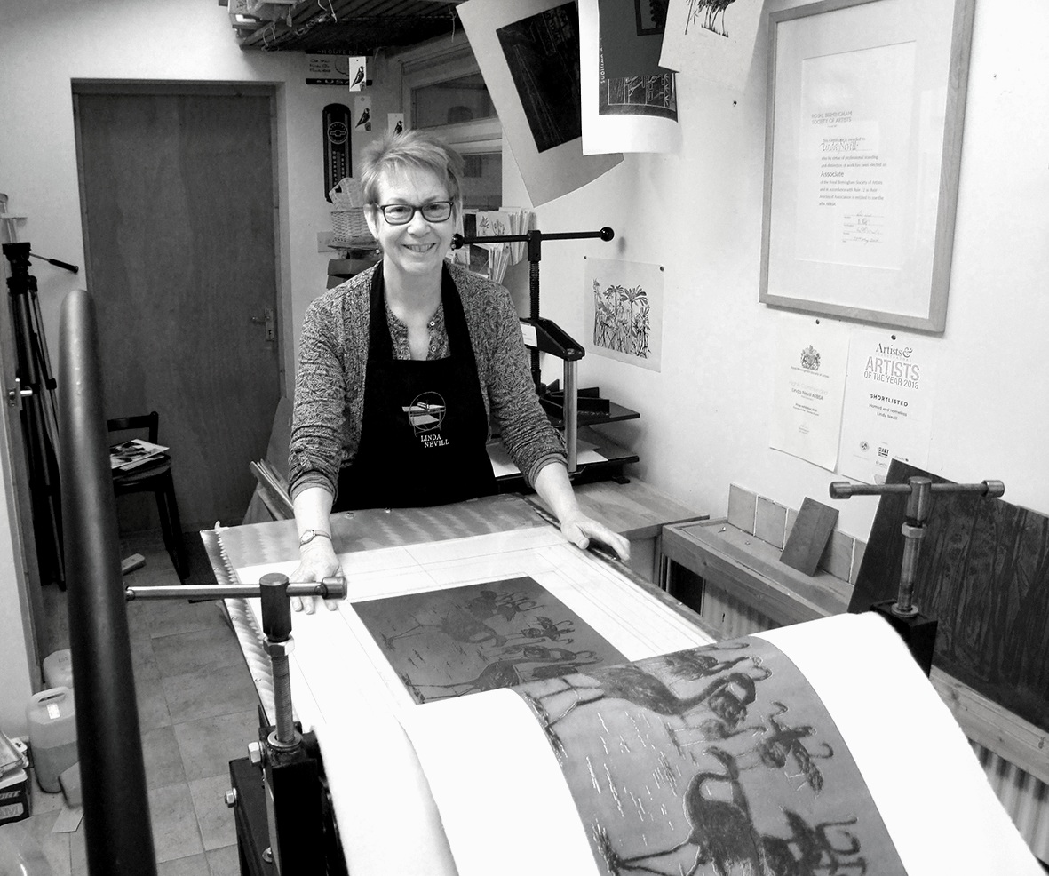 for+web+5+%27Flamingoes%27+etching+revealed+on+the+press+LindaNevill%27s+studio.jpg