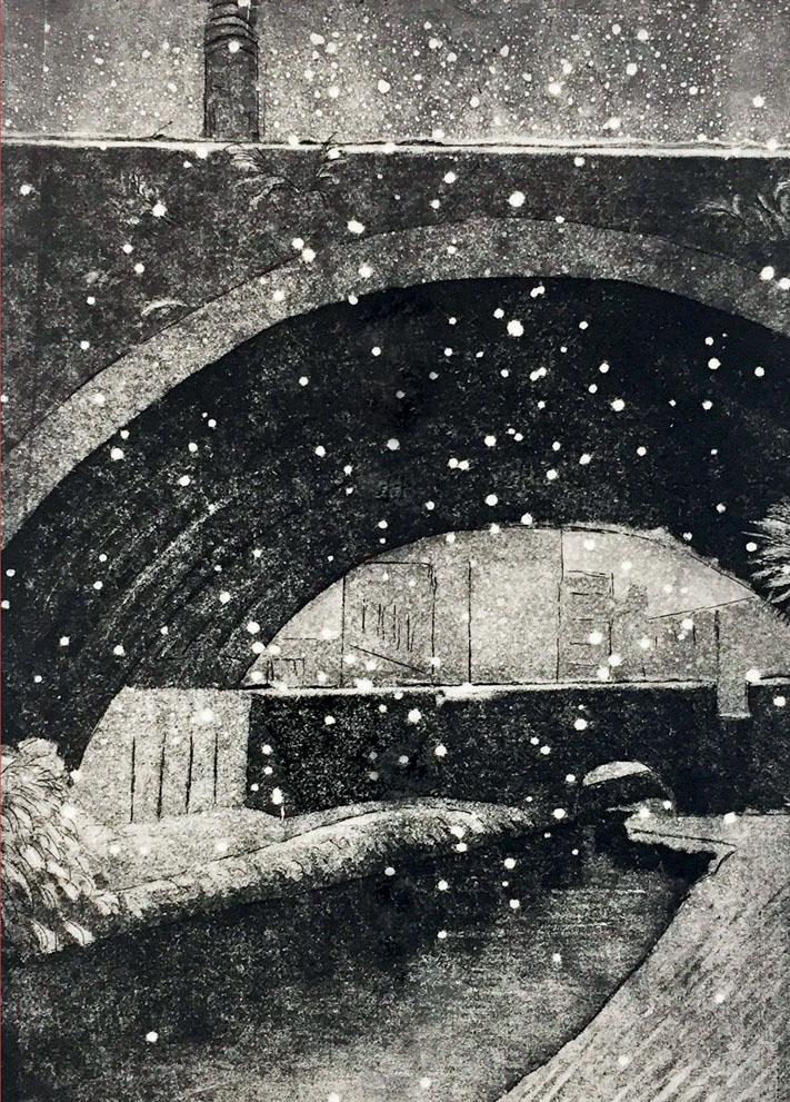 Snowfall Birmingham