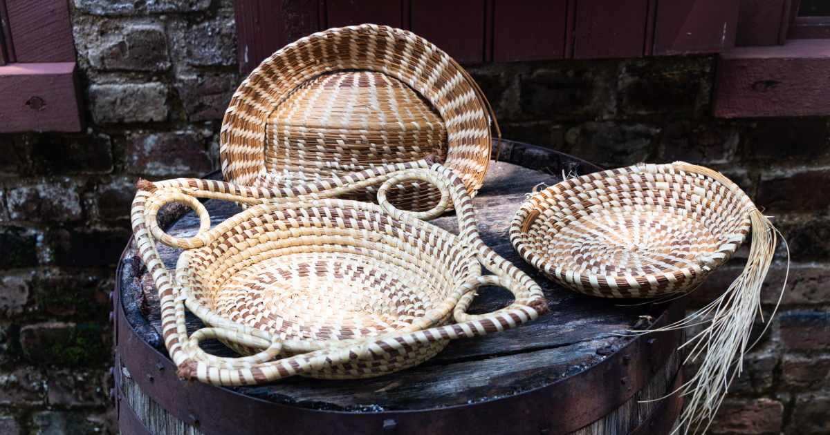 Sweetgrass baskets have been a part of Lowcountry culture for more than 300 years.