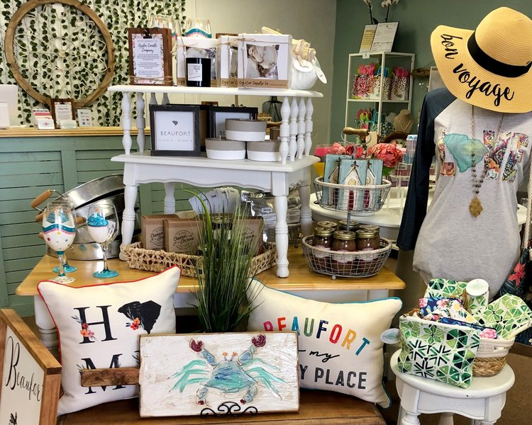 The Tabby Shore Gift Boutique | 101 West Street Extension Beaufort, SC