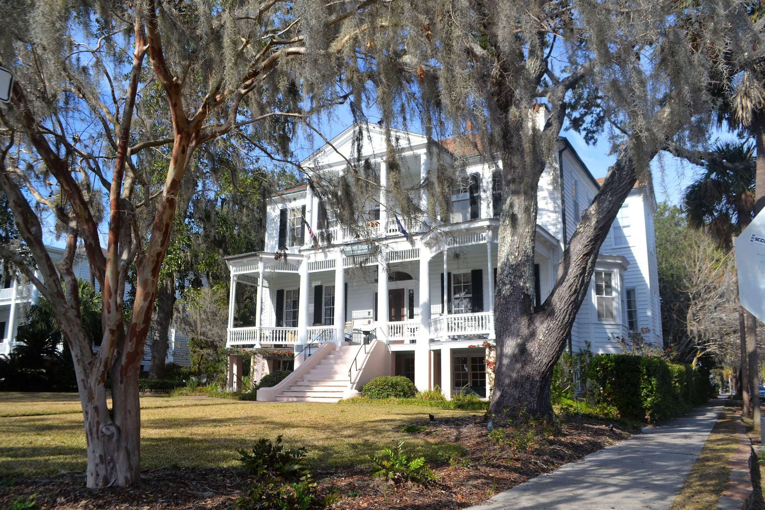 Antebellum-style home in Beaufort, South Carolina
