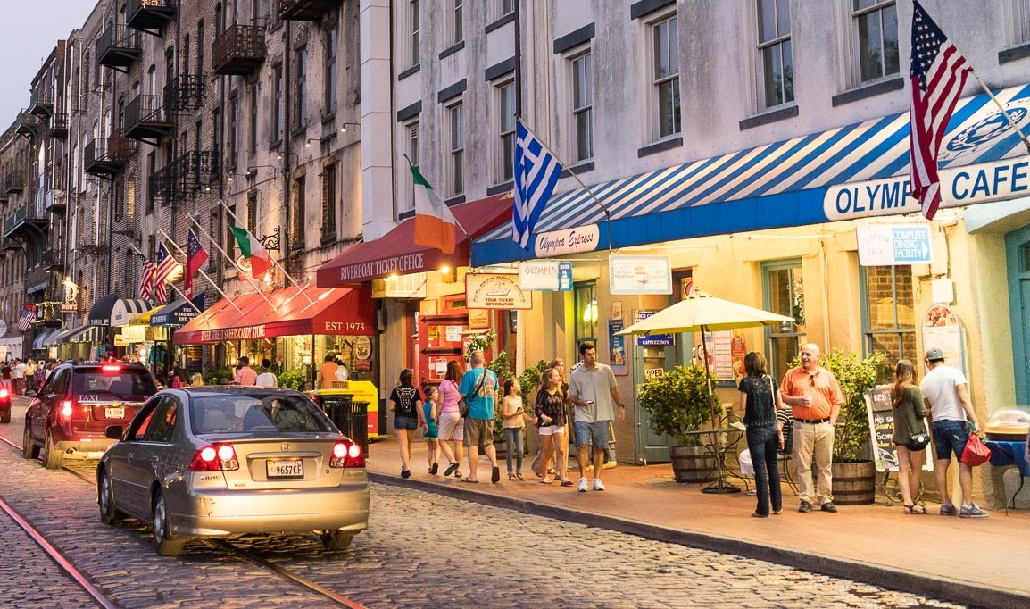 River Street Savannah, Georgia