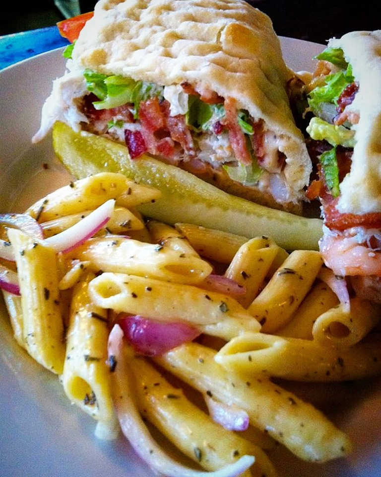 Have you ever tried a Crab & Shrimp BLT Panini? You're missing out!
