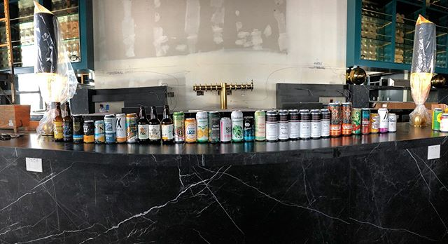 Now that's a good tasting. Thank you to these incredible local breweries! @unsungbrewing @chapmancrafted @pizzaportbrewingco @threeweavers @juneshineco @smogcitybeer @fallbrewingcompany @latitude33brew @telegraphbrewing @noblealeworks