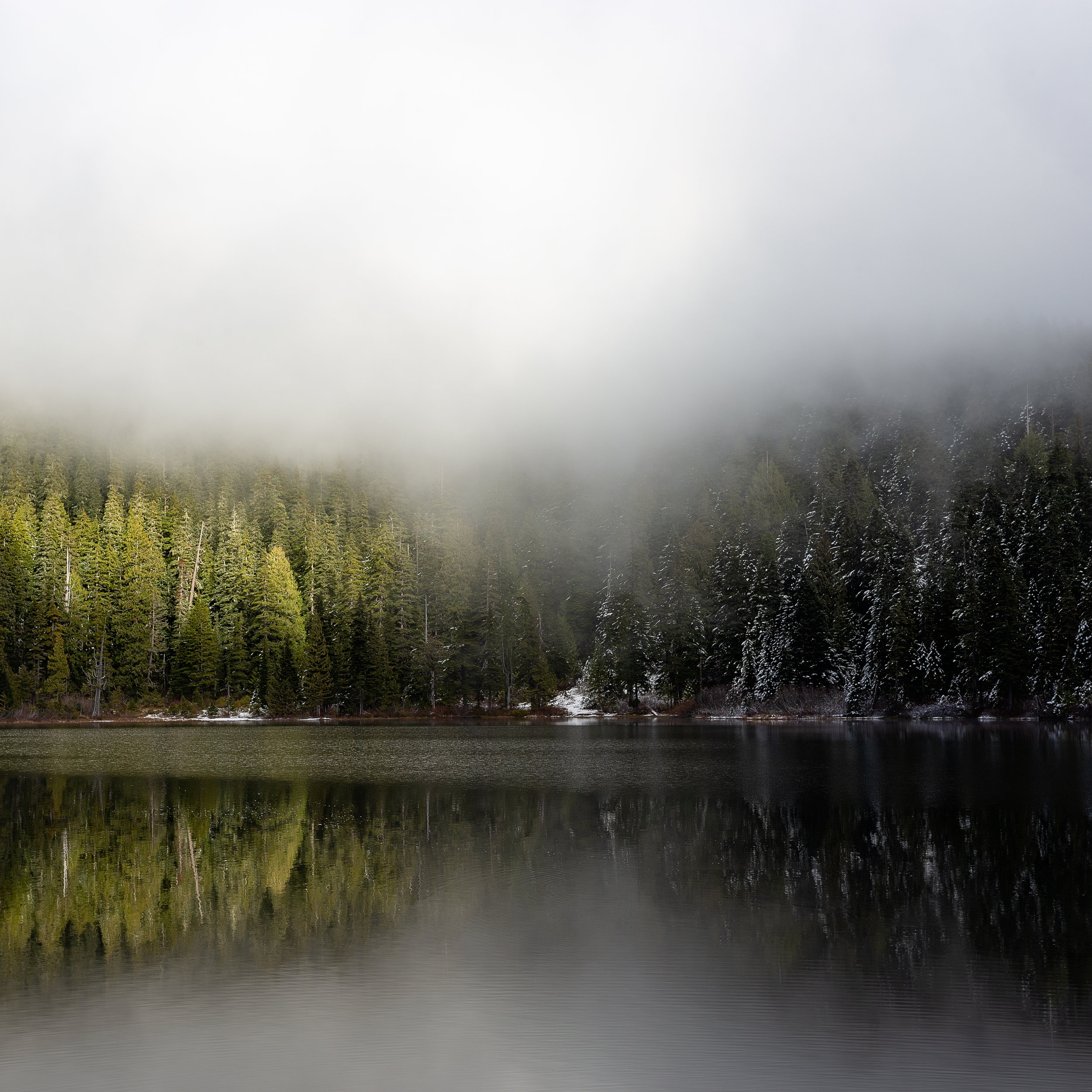 """Hidden in the Clouds"" - Alpine Lakes Wilderness, WA"