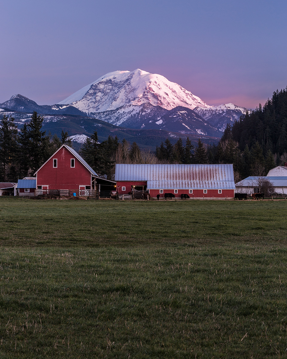 """In Rainier's Shadow"" - Enumclaw, WA"
