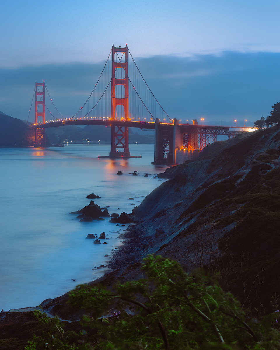 """Blue Hour at the Golden Gate"" - San Francisco, CA"
