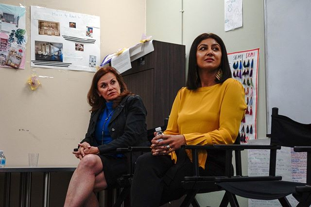 Thank you again to our lovely panelist, Lori and Shikha for providing insight on their journey's!