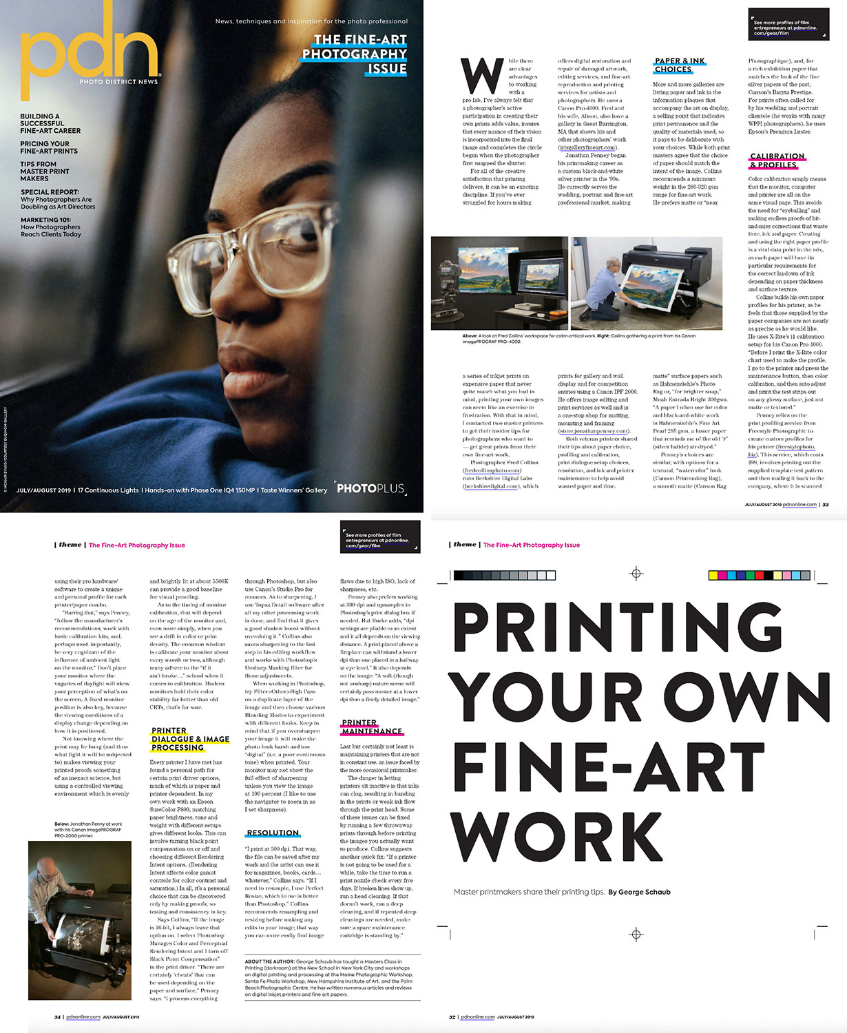 Article in PDN Magazine with Berkshire Digital