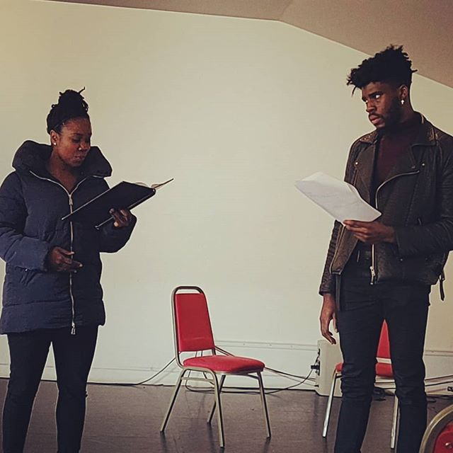 Thank you so much to the writers Karla Williams, Stella Ajayi, Tristan Fynn-Aiduenu and Edd Muruako and actors Alessandro Babalola, Sharla Smith, Harry Napier and Sofia Greenacre plus our new associate director Ajjaz Awad-Ibrahim! An amazing week which we shared with our new Short Course writers!  So much fun and great work all made in one week! Looking forward to 12th April.  Book here: https://www.berniegrantcentre.co.uk/see/race-today-showcase-performance/