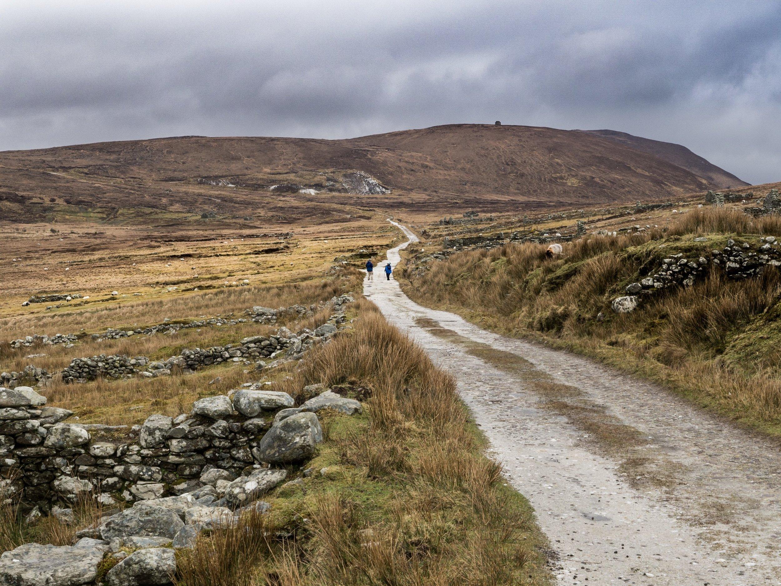 Abandoned Village, Achill Island