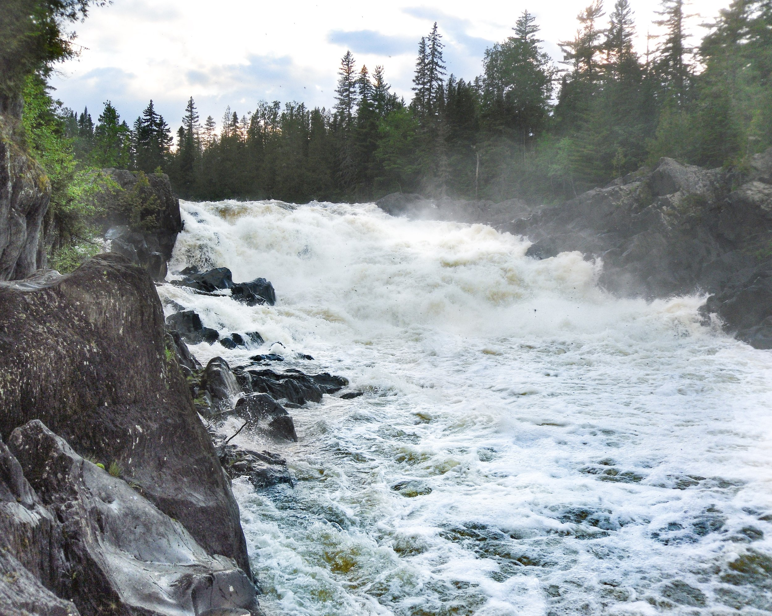 Allagash Falls, courtesy of Bryan Abbott