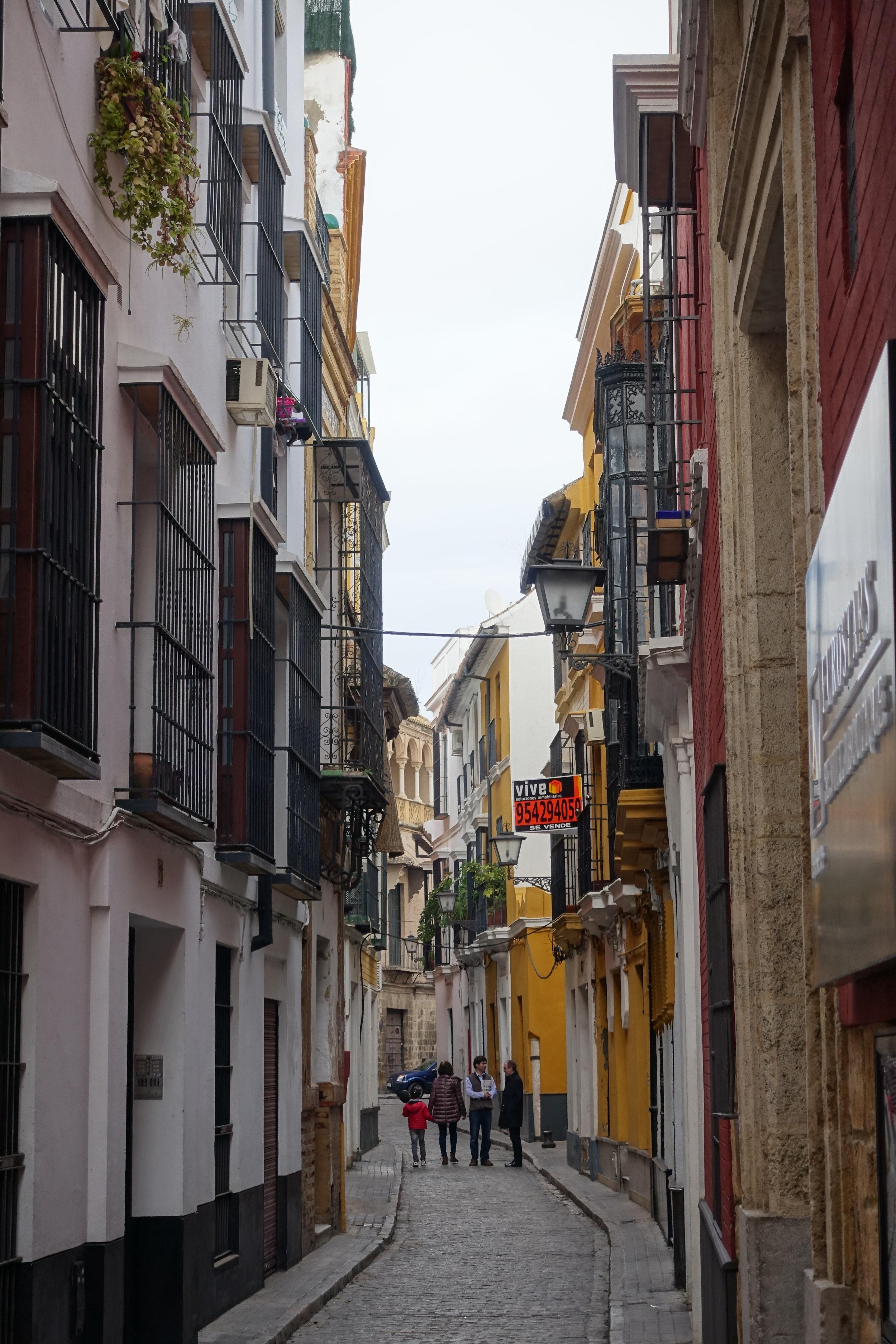 Jewish Quarter in Seville