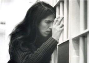 Sunny as an law intern maximum security county jail. Circa 1981.