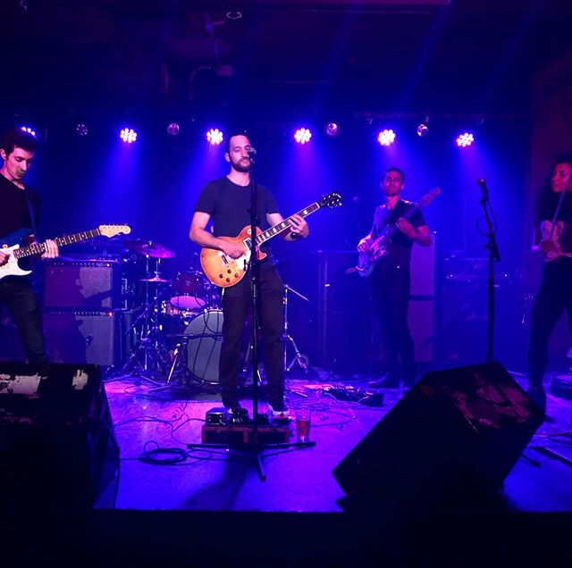 So much fun @arlenesgrocery last night 🍎 Thanks to everyone who came out to support us! 🍐