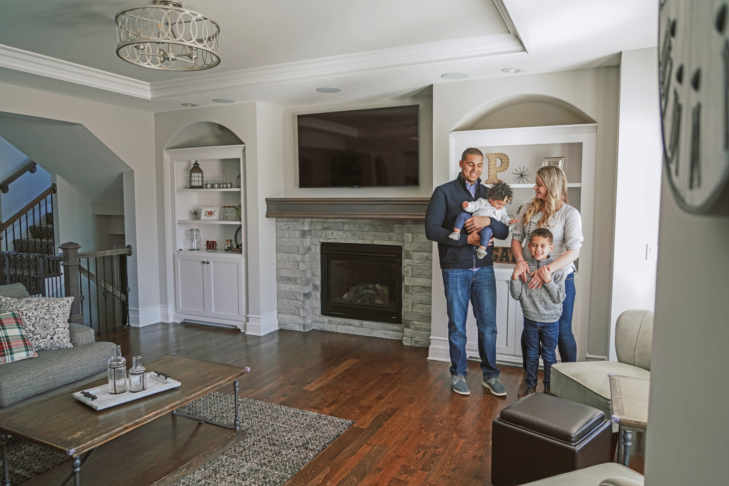 """""""Erin was a great resource in navigating the new construction process while we were building our home.""""  – Ryan and Katie Poles"""