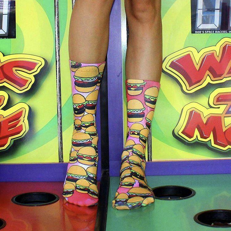 burger socks.JPG