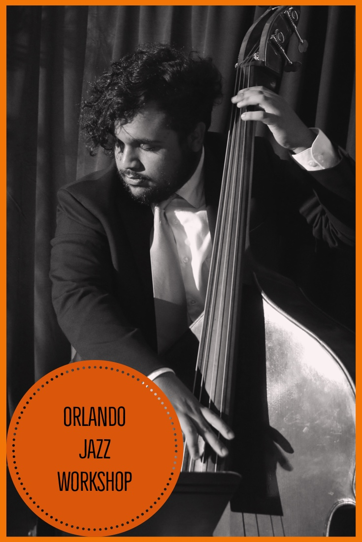 """Michael Santos - Michael Santos is a bassist who comes from the West Palm Beach area. He studied with guitarist Neil Bacher throughout his high school career and is now a scholarship student pursuing a Bachelor's degree in Jazz Studies at the University of Central Florida. He is currently studying Jazz Bass under Richard Drexler.His all time favorite bassist is the one and only Ray Brown, who heavily influences the way he plays.In 2017, he was awarded a scholarship to play bass in the Michigan State University Big Band Symposium where he studied with Rodney Whittaker, Diego Rivera, Michael Dease, Xavier Davis, Etienne Charles, and Randy """"Uncle G"""" Gelispie. He is currently the bassist in The Flying Horse Big Band and has played The Golden Triangle Jazz Festival and The Summer Solstice Jazz Festival.He has played with saxophonist Dick Oatts, saxophonist Dave Liebman, saxophonist Jerry Weldon, saxophonist Chad Lefkowitz Brown, Trumpeter Terell Stafford, saxophonist Jeff Rupert, pianist Per Danielsson, drummer Marty Morell, drummer Adam Nussbaum, drummer Duffy Jackson, trumpeter Dan Miller, and singer Stephanie Nakasian."""